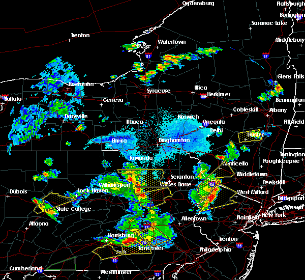 Radar Image for Severe Thunderstorms near Plains, PA at 5/19/2019 8:06 PM EDT