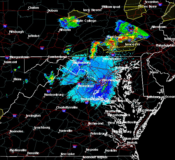 Radar Image for Severe Thunderstorms near Fivepointville, PA at 5/19/2019 8:08 PM EDT