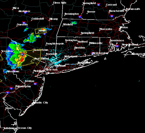 Radar Image for Severe Thunderstorms near Mechanicstown, NY at 5/19/2019 8:10 PM EDT