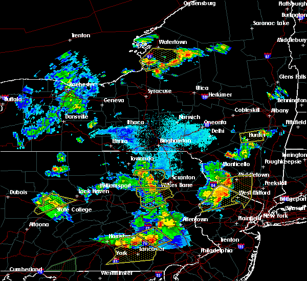 Radar Image for Severe Thunderstorms near Sugar Notch, PA at 5/19/2019 8:20 PM EDT