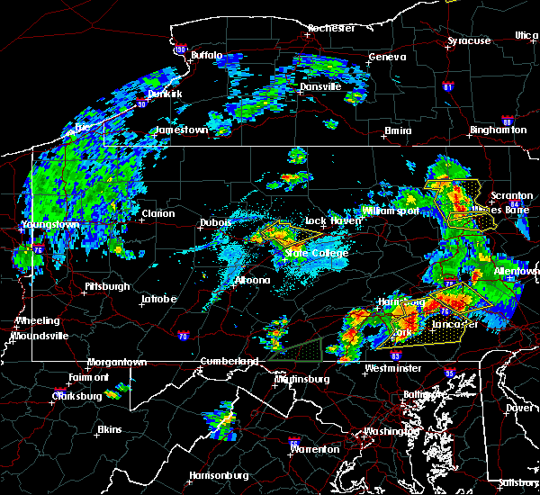 Radar Image for Severe Thunderstorms near Blanchard, PA at 5/19/2019 8:24 PM EDT