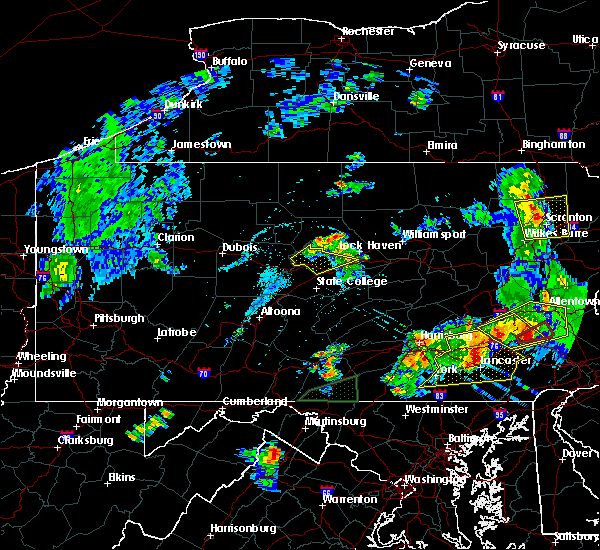 Radar Image for Severe Thunderstorms near Howard, PA at 5/19/2019 8:43 PM EDT