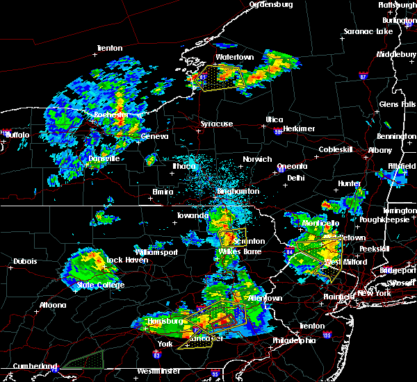 Radar Image for Severe Thunderstorms near Dunmore, PA at 5/19/2019 8:48 PM EDT