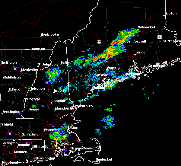 Radar Image for Severe Thunderstorms near Hartland, ME at 5/20/2019 5:55 PM EDT