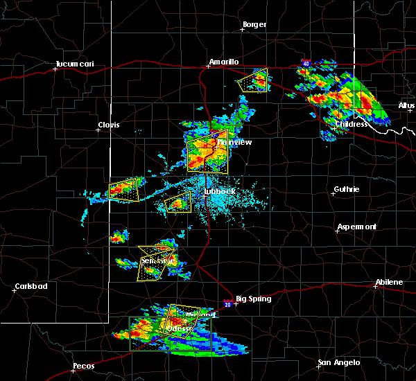 Radar Image for Severe Thunderstorms near Denver City, TX at 6/12/2015 6:25 PM CDT