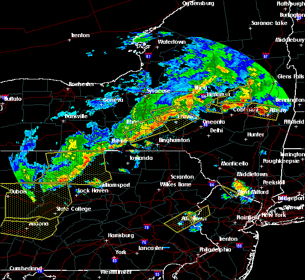 Radar Image for Severe Thunderstorms near Norwich, NY at 6/12/2015 7:31 PM EDT