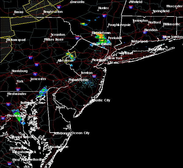Radar Image for Severe Thunderstorms near Mountain Lake, NJ at 6/12/2015 7:54 PM EDT