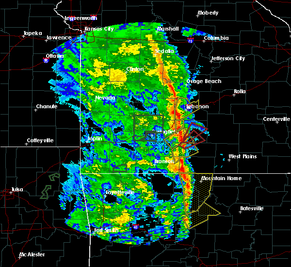 Radar Image for Severe Thunderstorms near Mansfield, MO at 5/21/2019 3:21 PM CDT
