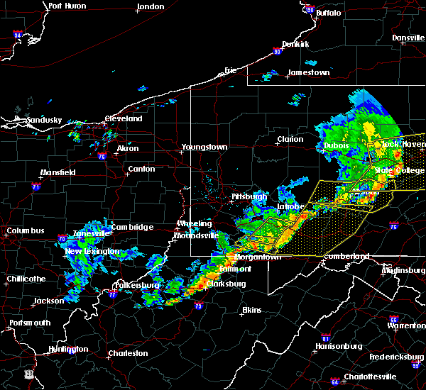 Radar Image for Severe Thunderstorms near Calumet, PA at 6/12/2015 8:10 PM EDT