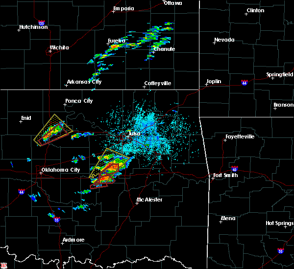 Radar Image for Severe Thunderstorms near IXL, OK at 5/22/2019 4:56 PM CDT