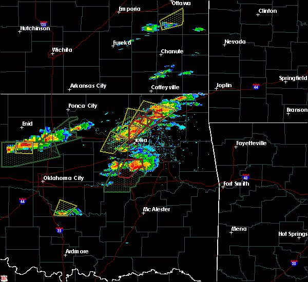 Radar Image for Severe Thunderstorms near Skiatook, OK at 5/22/2019 6:07 PM CDT