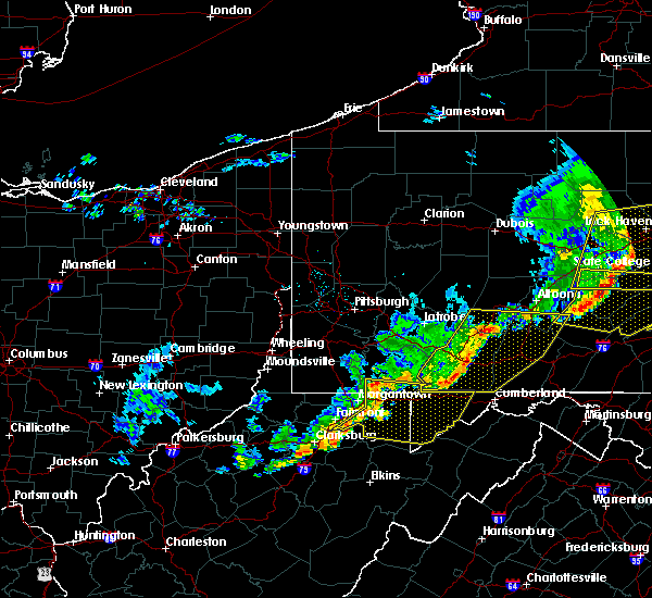 Radar Image for Severe Thunderstorms near Rowlesburg, WV at 6/12/2015 8:23 PM EDT