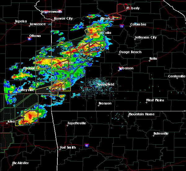 Radar Image for Severe Thunderstorms near Neck City, MO at 5/22/2019 8:16 PM CDT