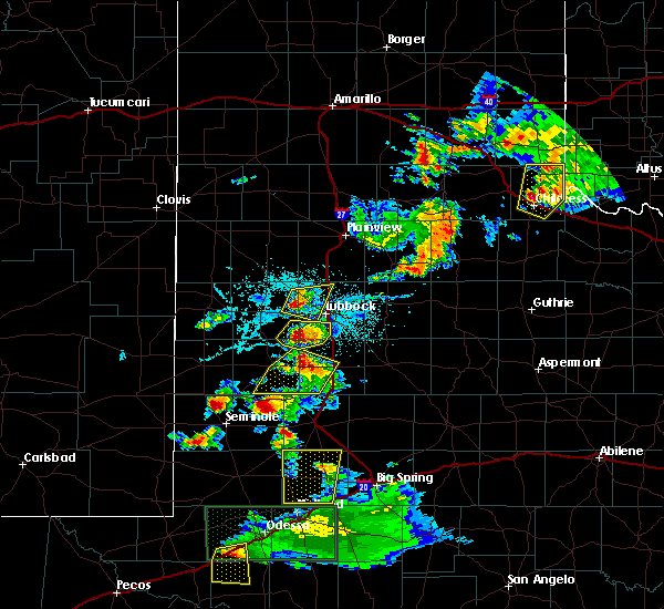 Radar Image for Severe Thunderstorms near New Home, TX at 6/12/2015 7:36 PM CDT