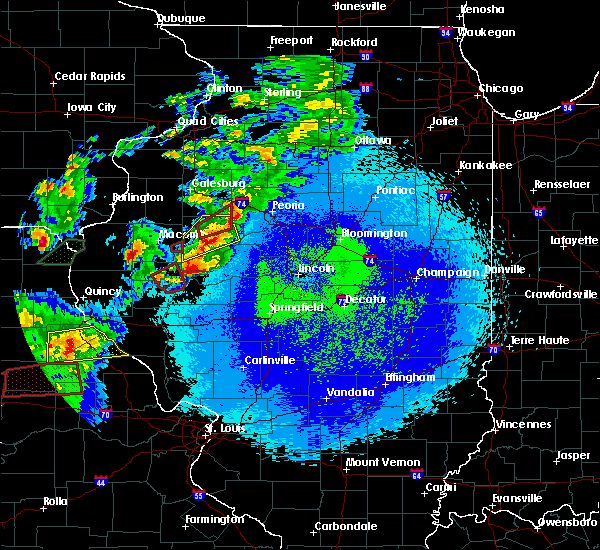 Radar Image for Severe Thunderstorms near Dunfermline, IL at 5/22/2019 10:04 PM CDT