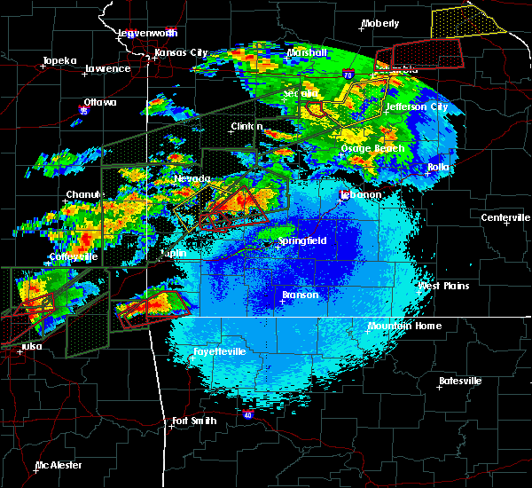Radar Image for Severe Thunderstorms near Jerico Springs, MO at 5/22/2019 10:06 PM CDT