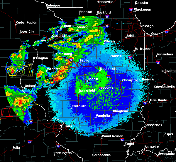 Radar Image for Severe Thunderstorms near Canton, IL at 5/22/2019 10:07 PM CDT