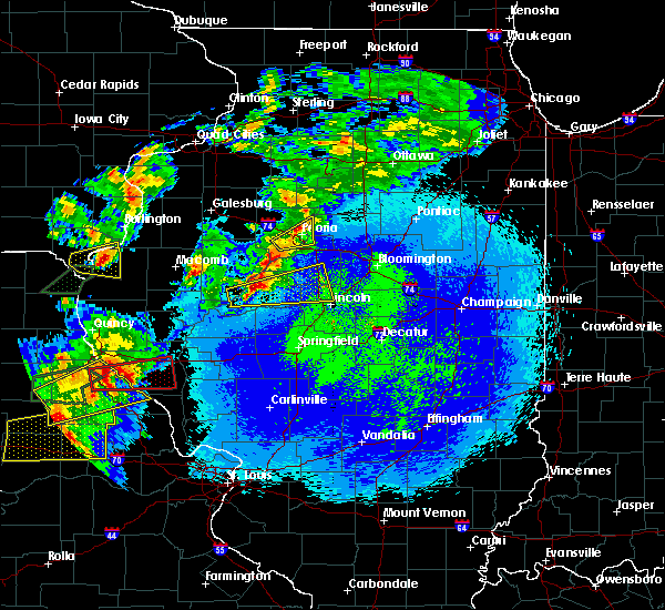 Radar Image for Severe Thunderstorms near Manito, IL at 5/22/2019 10:37 PM CDT