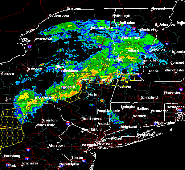 Radar Image for Severe Thunderstorms near West Sand Lake, NY at 6/12/2015 8:54 PM EDT