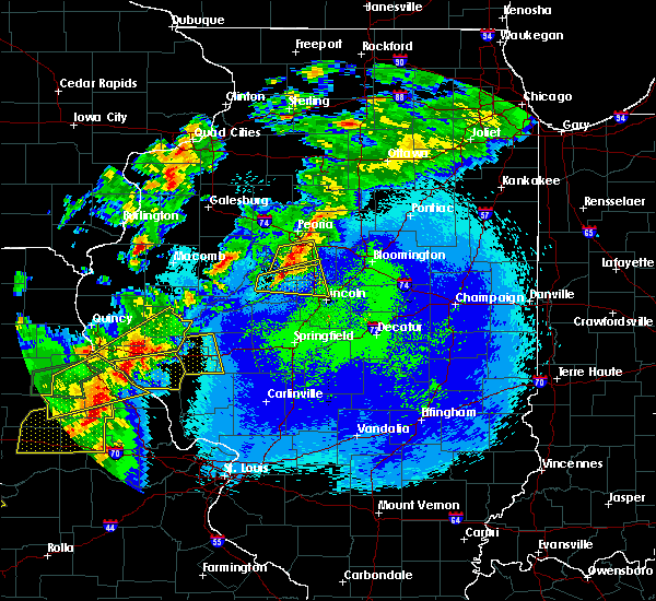 Radar Image for Severe Thunderstorms near Manito, IL at 5/22/2019 10:56 PM CDT