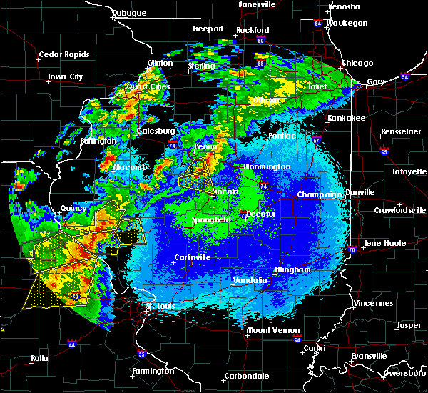 Radar Image for Severe Thunderstorms near Heritage Lake, IL at 5/22/2019 11:13 PM CDT