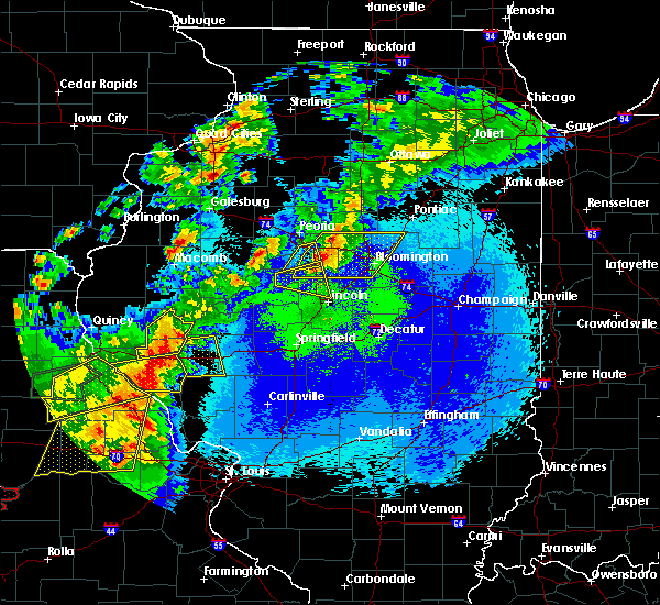 Radar Image for Severe Thunderstorms near Minier, IL at 5/22/2019 11:22 PM CDT