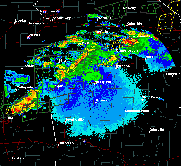 Radar Image for Severe Thunderstorms near Olean, MO at 5/22/2019 11:29 PM CDT