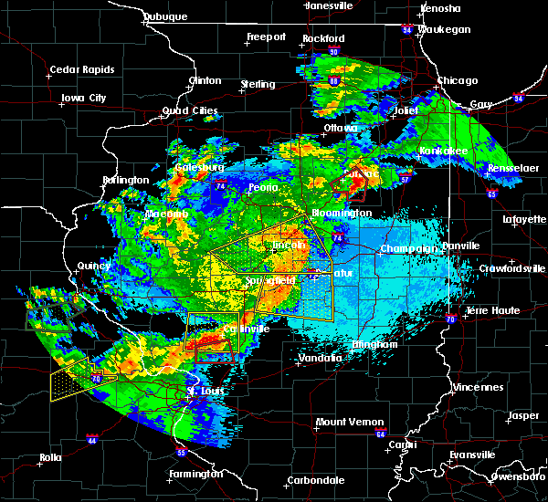 Radar Image for Severe Thunderstorms near Anchor, IL at 5/23/2019 1:03 AM CDT