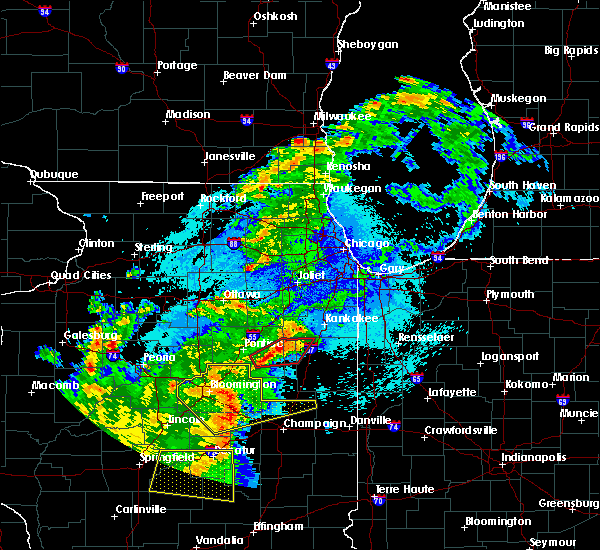 Radar Image for Severe Thunderstorms near Roberts, IL at 5/23/2019 1:15 AM CDT