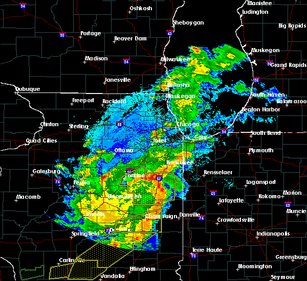 Radar Image for Severe Thunderstorms near Otterbein, IN at 5/23/2019 1:57 AM CDT
