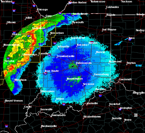 Radar Image for Severe Thunderstorms near Otterbein, IN at 5/23/2019 3:06 AM EDT