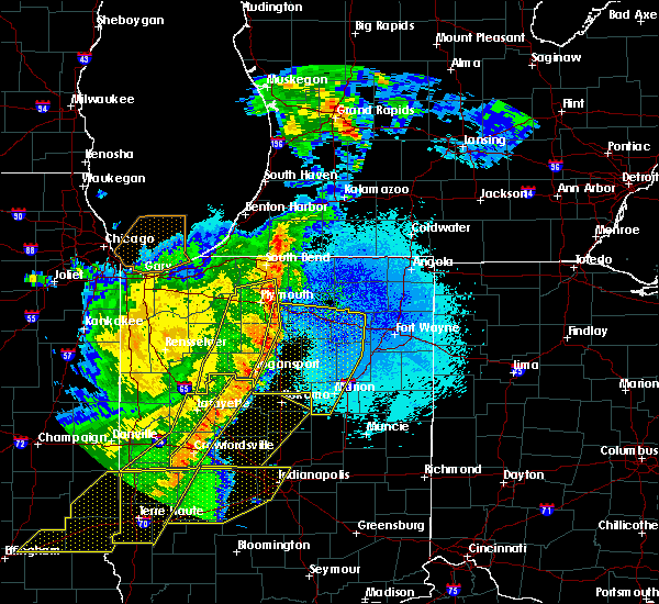 Radar Image for Severe Thunderstorms near Dunlap, IN at 5/23/2019 4:28 AM EDT