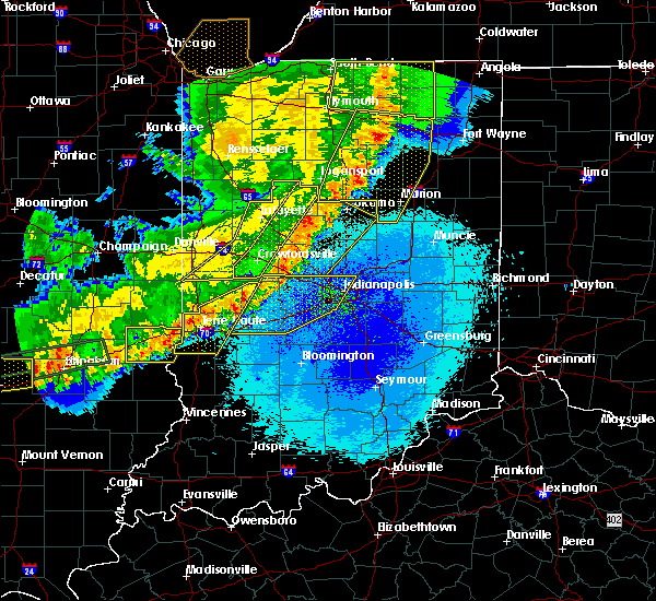 Radar Image for Severe Thunderstorms near Indianapolis, IN at 5/23/2019 4:45 AM EDT
