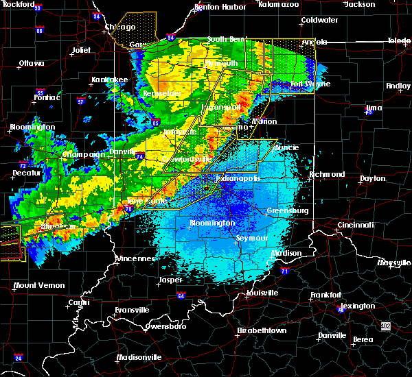 Radar Image for Severe Thunderstorms near Indianapolis, IN at 5/23/2019 4:59 AM EDT