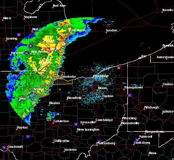 Radar Image for Severe Thunderstorms near New Riegel, OH at 5/23/2019 7:16 AM EDT