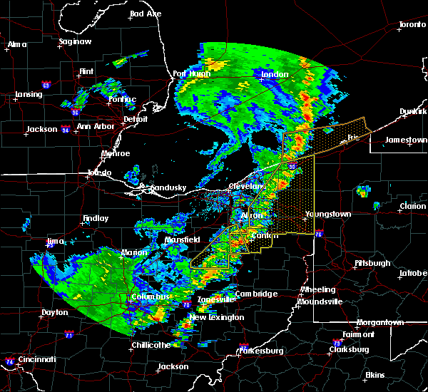 Radar Image for Severe Thunderstorms near Massillon, OH at 5/23/2019 9:03 AM EDT