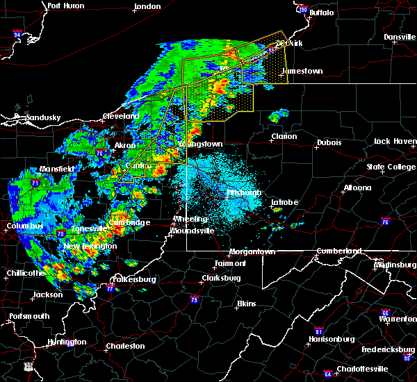 Radar Image for Severe Thunderstorms near Campbell, OH at 5/23/2019 9:36 AM EDT