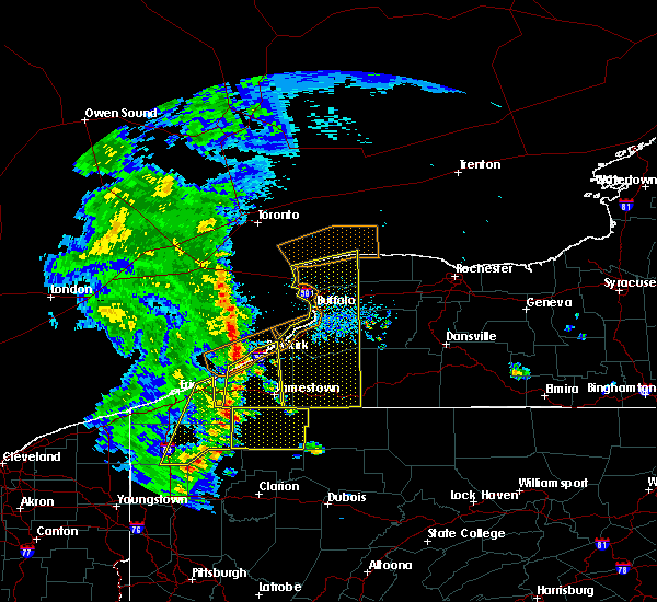 Radar Image for Severe Thunderstorms near Panama, NY at 5/23/2019 10:02 AM EDT