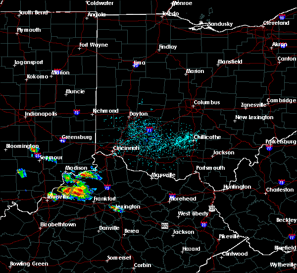 Radar Image for Severe Thunderstorms near Verona, KY at 5/23/2019 3:33 PM EDT