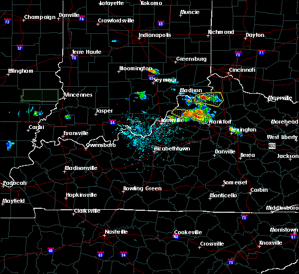 Radar Image for Severe Thunderstorms near Eminence, KY at 5/23/2019 3:41 PM EDT