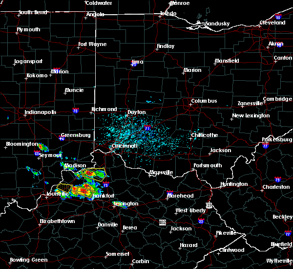 Radar Image for Severe Thunderstorms near Verona, KY at 5/23/2019 3:46 PM EDT