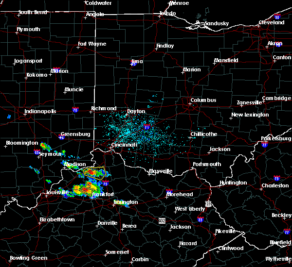 Radar Image for Severe Thunderstorms near Verona, KY at 5/23/2019 3:50 PM EDT