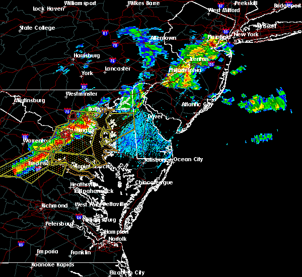Radar Image for Severe Thunderstorms near Georgetown, MD at 5/23/2019 3:57 PM EDT