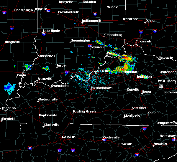 Radar Image for Severe Thunderstorms near Sanders, KY at 5/23/2019 3:59 PM EDT