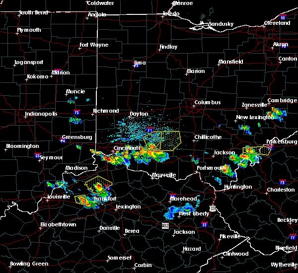 Radar Image for Severe Thunderstorms near Good Hope, OH at 5/23/2019 5:52 PM EDT