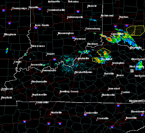 Radar Image for Severe Thunderstorms near Owenton, KY at 5/23/2019 5:53 PM EDT