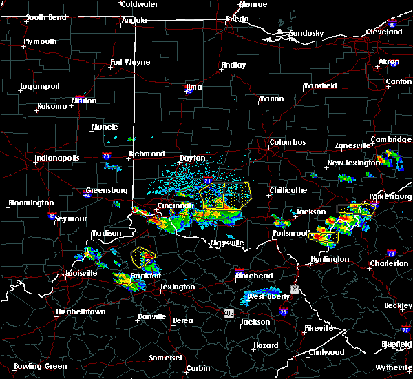 Radar Image for Severe Thunderstorms near Good Hope, OH at 5/23/2019 6:03 PM EDT