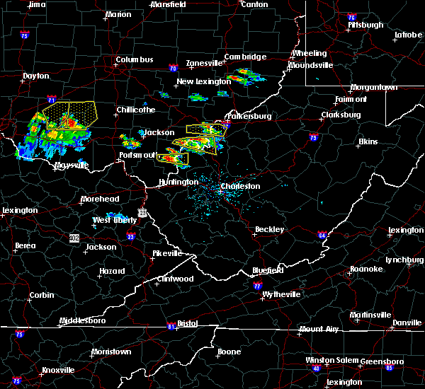 Radar Image for Severe Thunderstorms near Mason, OH at 5/23/2019 6:02 PM EDT