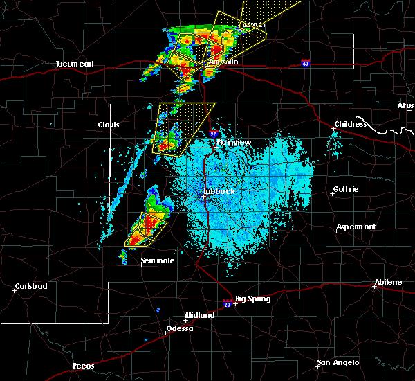 Radar Image for Severe Thunderstorms near Denver City, TX at 5/23/2019 5:18 PM CDT