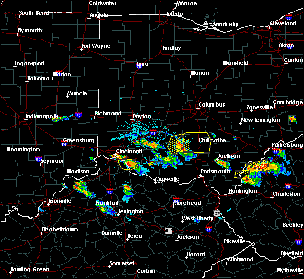 Radar Image for Severe Thunderstorms near Good Hope, OH at 5/23/2019 6:25 PM EDT